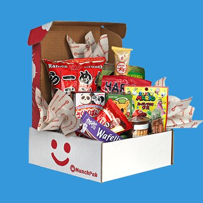 Try new and popular snacks from around the world.  Use code: PINIT to get $5 off!