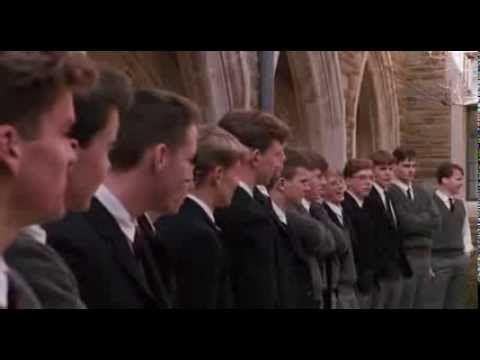 """""""Schwimmt gegen den Strom!"""" aus Der Club der toten Dichter 1989 - Eine von vielen Schlüsselszenen aus diesem einzigartigen Film - Geh deinen Weg - """"Carpe diem! Nutze den Tag! Macht etwas Außergewöhnliches aus Eurem Leben!""""  Schlüsselsatz: Wozu bin ich da? Damit das Spiel der Mächte weiter bestehst und du deinen Vers dazu beitragen kannst."""" (Death Poets Society)"""