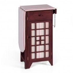 Mueble plancha madera marr n muebles para planchar en - Mueble de plancha ...