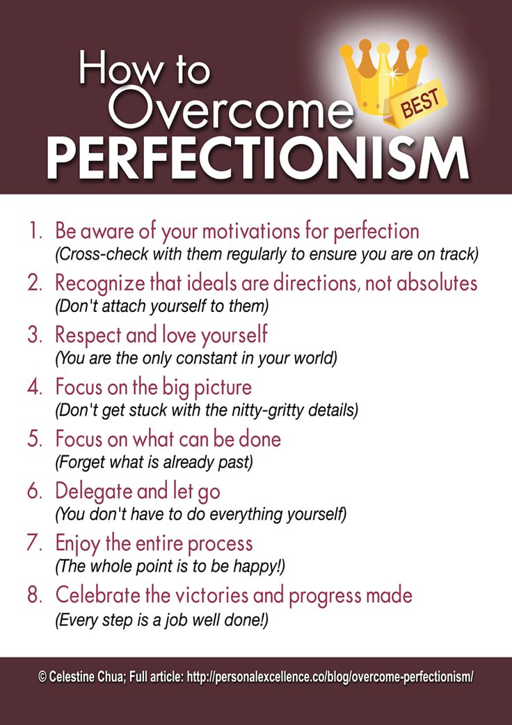 I am not a perfectionist but these are still some really good points. How To Overcome Perfectionism Manifesto