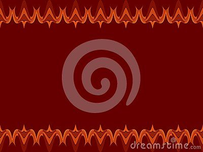 Floral design blend of lines and dots of dark reddish brown background, design / ornament of leaves / flowers / plants with bright reddish-brown, reddish-brown