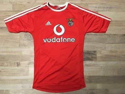 Benfica Lisbonne SLB  Adidas Red Espirito Santo  vodafone jersey Size S | eBay