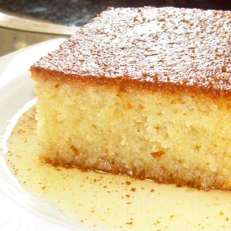 Greek Ravani - Syrup Cake Dessert