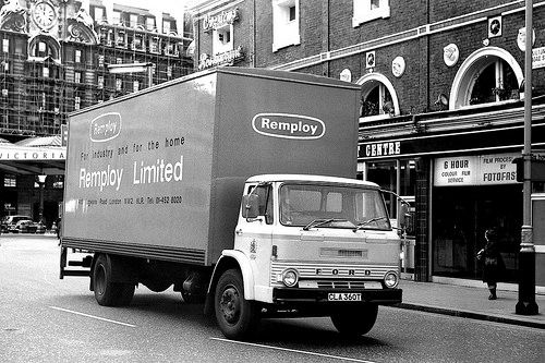 Remploy Ltd Ford D Series Reg No CLA 360T