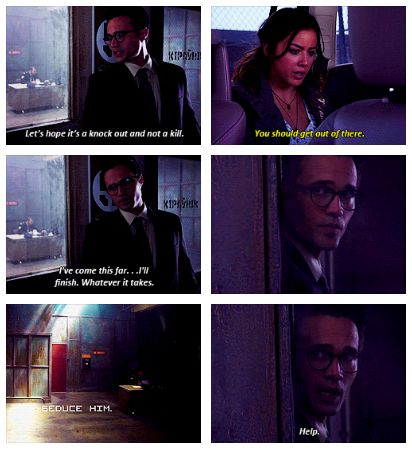 I didn't think anything could be funnier than Coulson stepping out of that dark corner....I was wrong. :)