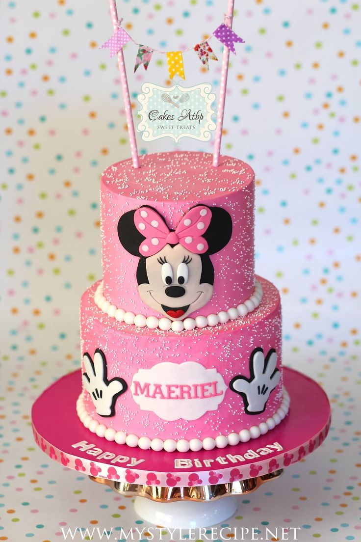 Minnie Mouse Cake in SMBC                                                                                                                                                                                 More