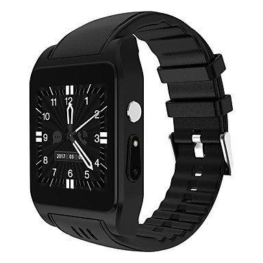 cool Lemumu Smar twatch Nano-SIM-Card/3 GWIFI Internet/Support Software Download/Kamera/Freisprechanlage Anrufe für Android Smart Watch Mobile, Silber
