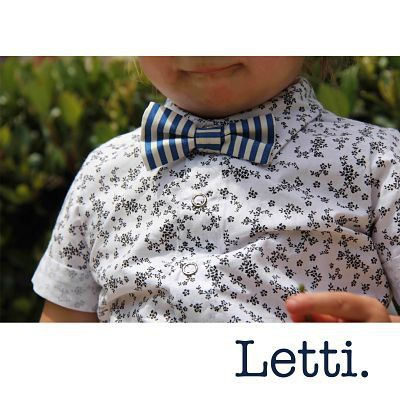 """Today's Look. Letti's Cookies&Cream Button Up Ft our B1 Magnetic Little Bro Tie. www.letti.com.au #Letti #LittleBroTie #Buttonup #Littleboys #Toddler…"""