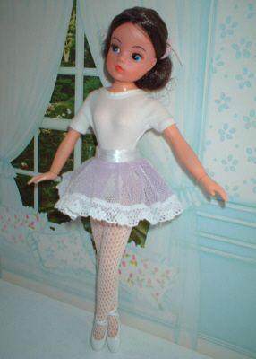 As I loved ballet this was my favourite doll (seventies) - als liefhebster van ballet was dit mijn favoriete pop (jaren 70)
