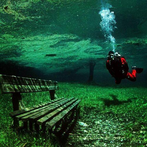 Green Lake, Austria.