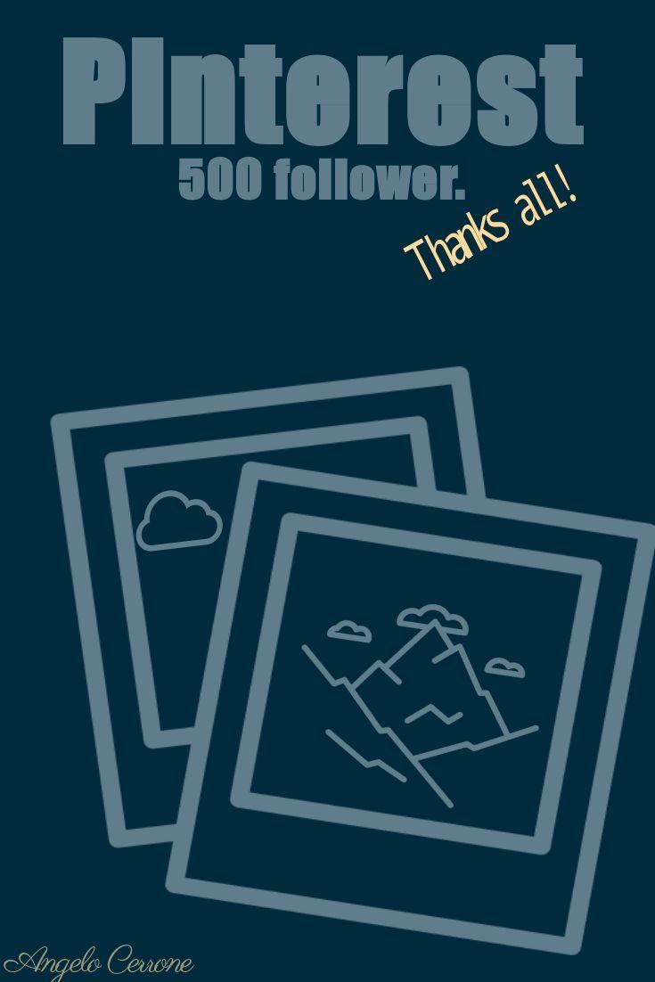 500 #follower. Thanks all.