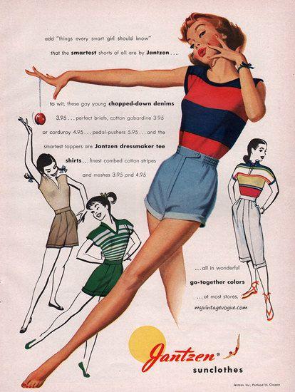 Jantzen Sun Clothes Go-Together Swim Suits - Mad Men Art: The 1891-1970 Vintage Advertisement Art Collection