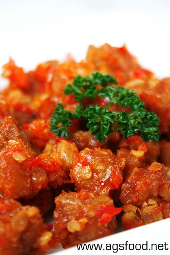 Another good one: Balado Tempe.   Authentic Indonesian, not some crazy made up American food.