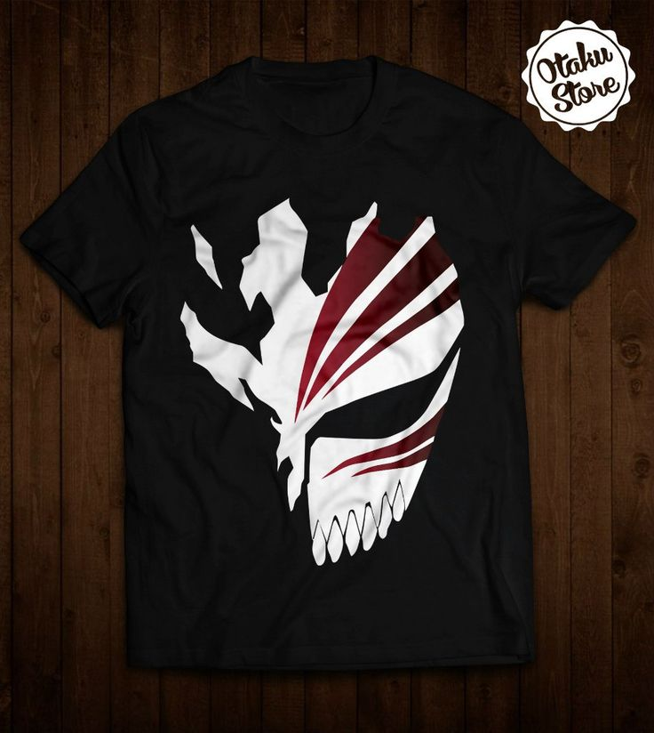 Anime bleach tshirt anime dtg print with images
