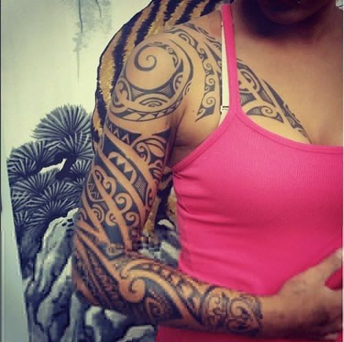 150 Popular Polynesian Tattoo Designs And Meanings awesome  Check more at http://fabulousdesign.net/polynesian-tattoos-meanings/