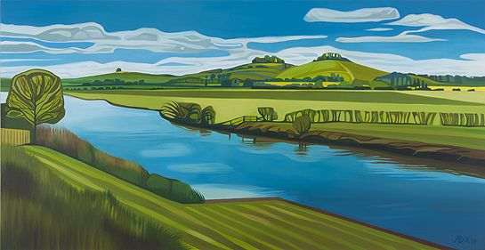 View from Herons by Anna Dillon