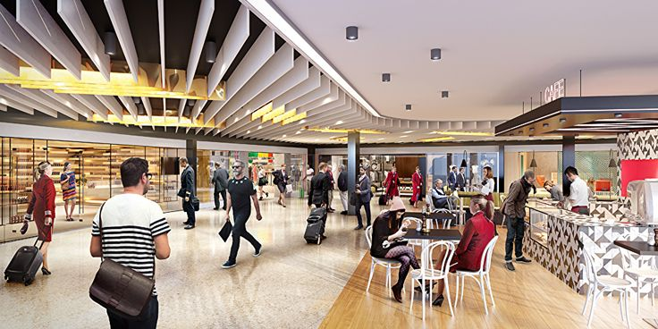 Luxe make-over for Melbourne Airport's T2 international terminal - Australian Business Traveller