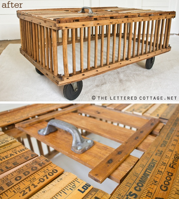 Such An Interesting Idea For A Chicken Crate