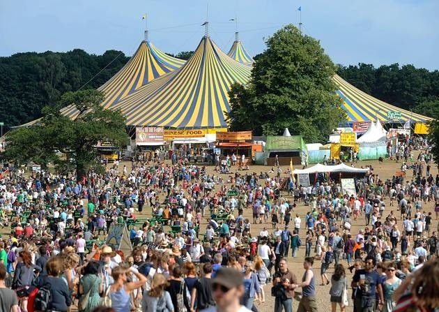 Latitude festival arena is packed with shops and stalls selling clothes crystals and much more!!!