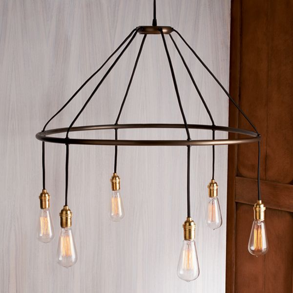 Halo Chandelier  Inspired by a turn of the century design this suspended  lam  employs36 best Roost Design Home Decor at Iron Accents images on  . Roost Lighting Design. Home Design Ideas