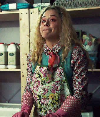Adorable Crazypants Psycho Killer :)  // Helena // Orphan Black // Tatiana Maslany