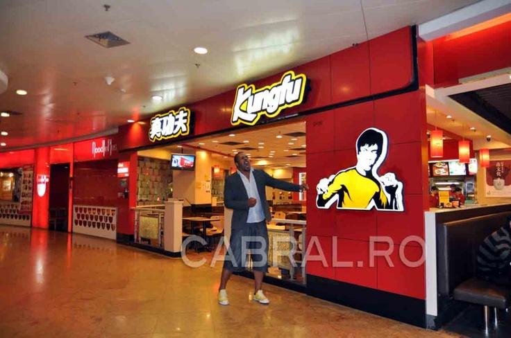 restaurant fast food kung-fu Cabral Ibacka Shanghai 2012