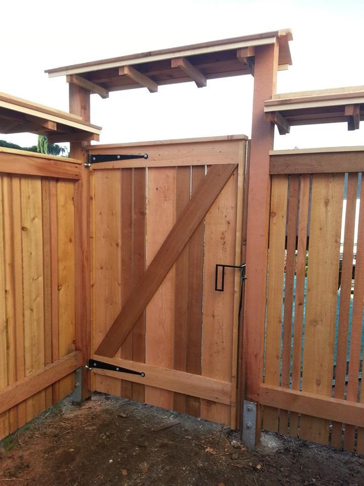 107 best Wooden Gates images on Pinterest   Garden gates, Windows and Woodworking