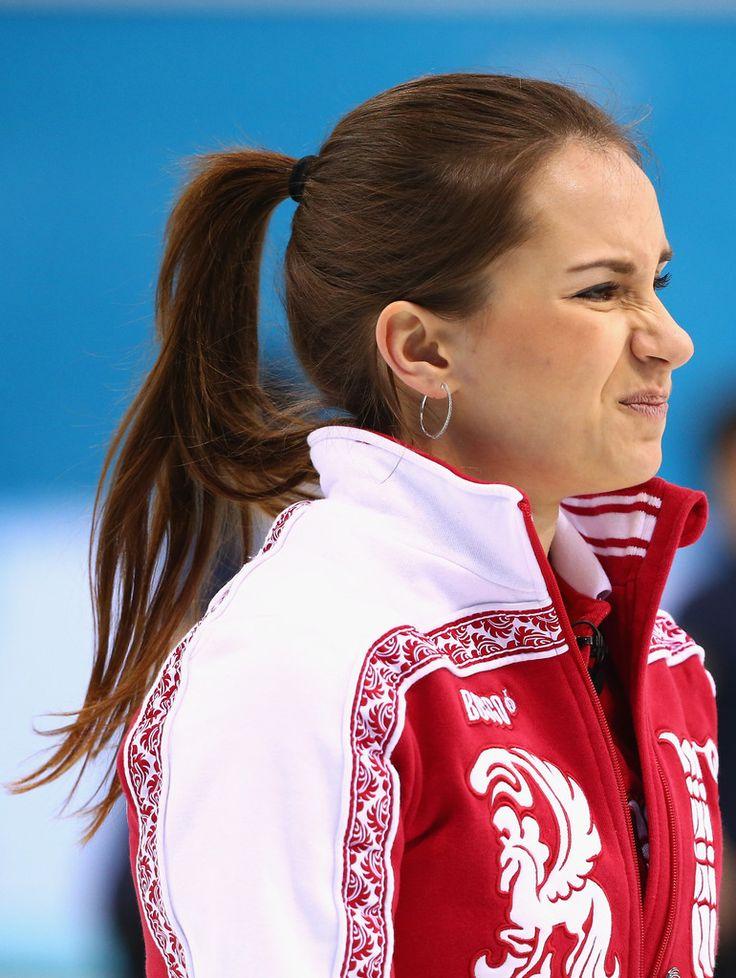 Anna+Sidorova+Curling+Winter+Olympics+Day   Anna Sidorova ...