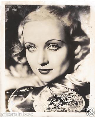 1930s Actress Carole Lombard