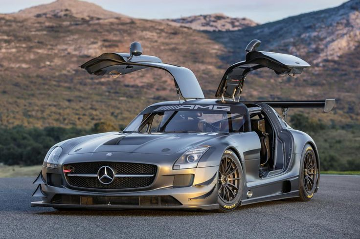 Mercedes-Benz 45th Anniversary SLS AMG GT3.