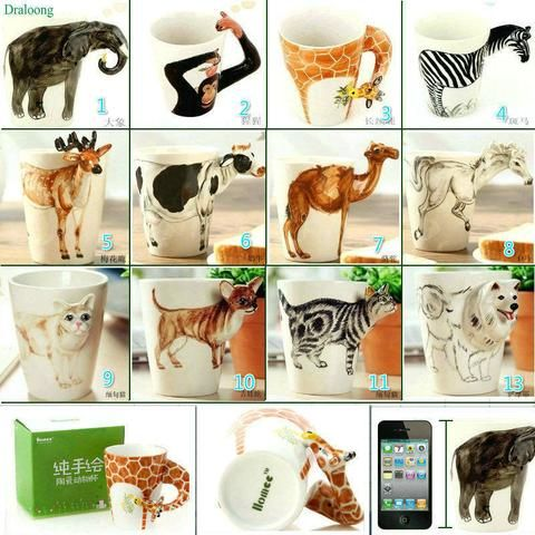 MSC 1pc Creative Gift Ceramic Coffee Mug (Available in different VARIANTS)