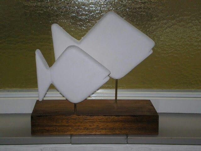 Duo vis - Gasbeton - Ans van Bakel - in particulier bezit