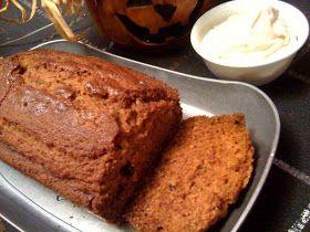 Sweet Tea and Cornbread: Pumpkin Bread with Cinnamon Honey Cream Cheese Spread!