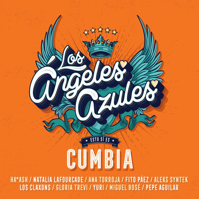 Nunca Es Suficiente By Los Angeles Azules Natalia Lafourcade Was Added To My Discover Weekly Playlist On Spotify Music Album Cover Cumbia Gloria Trevi