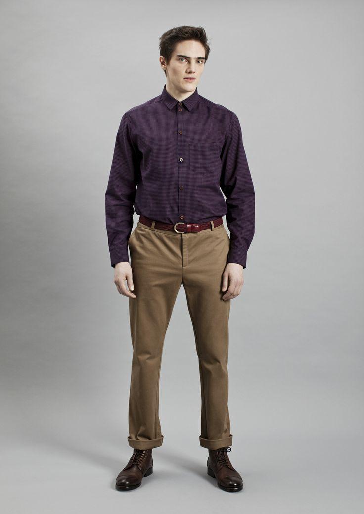 Keith Shirt and Dalek Trousers | Samuji Men Fall Winter 2014 Collection