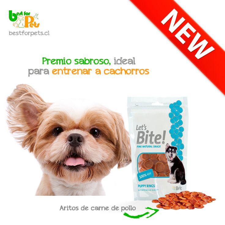 Cuando tu cachorro haga algo bien, prémialo al instante con un delicioso snack Let`s Bite será un refuerzo positivo que te ayudará a perpetuar esa conducta y, de paso, tu cachorro disfrutará de un exquisito premio saludable! Best for Pets