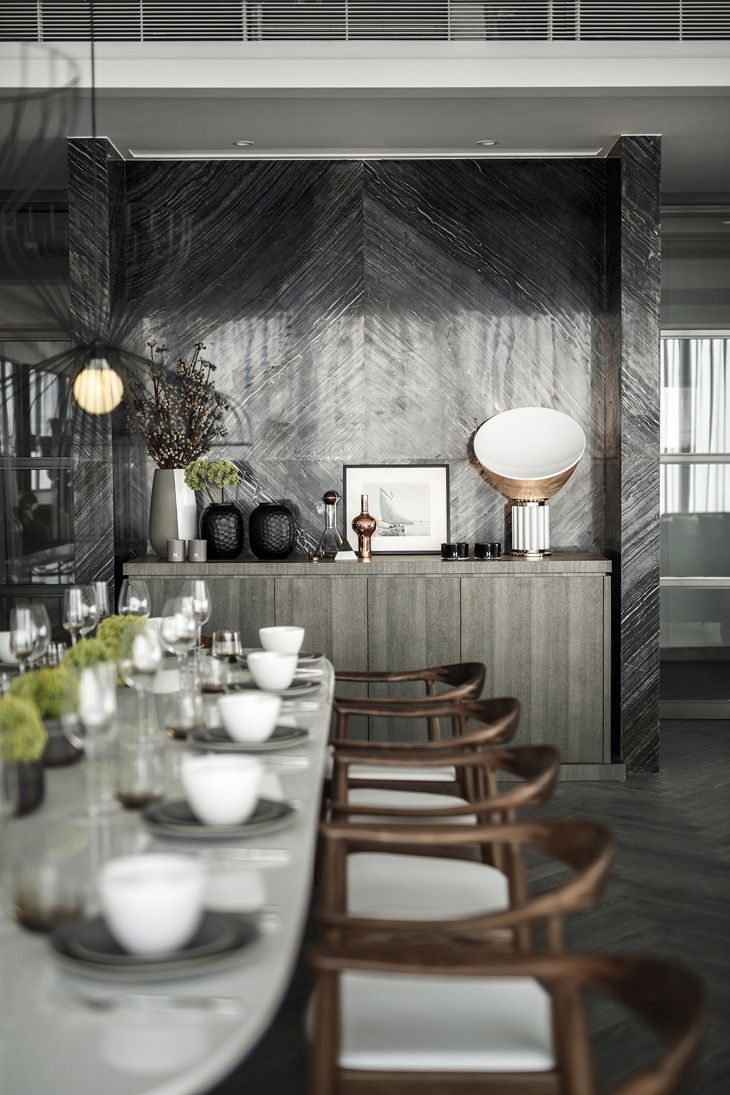 404 best dining rooms images on pinterest dining room dining one shenzhen bay kelly hoppen luxury dining roomdining