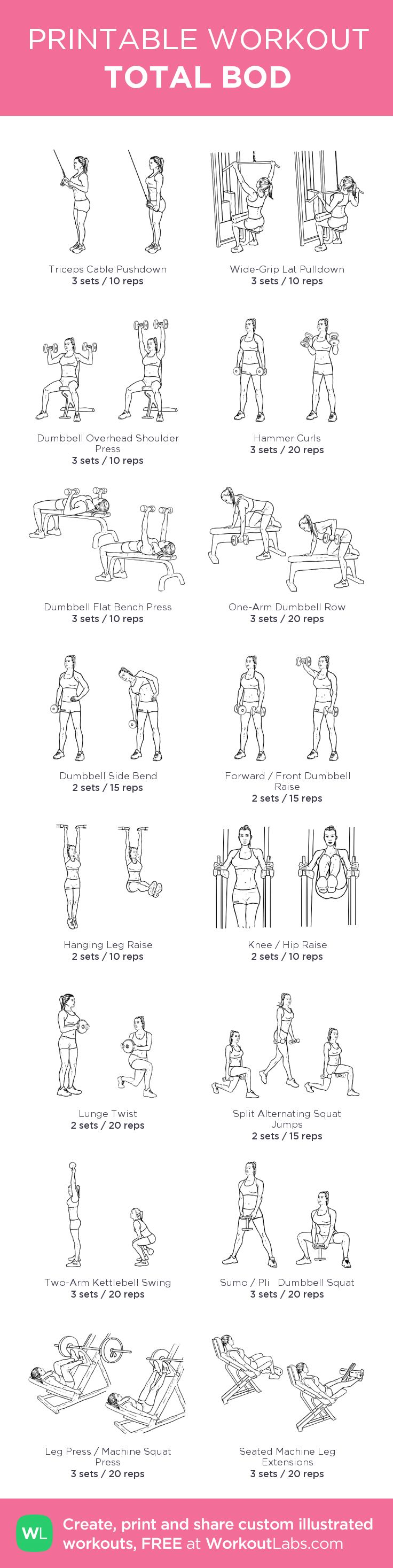 my gym routine
