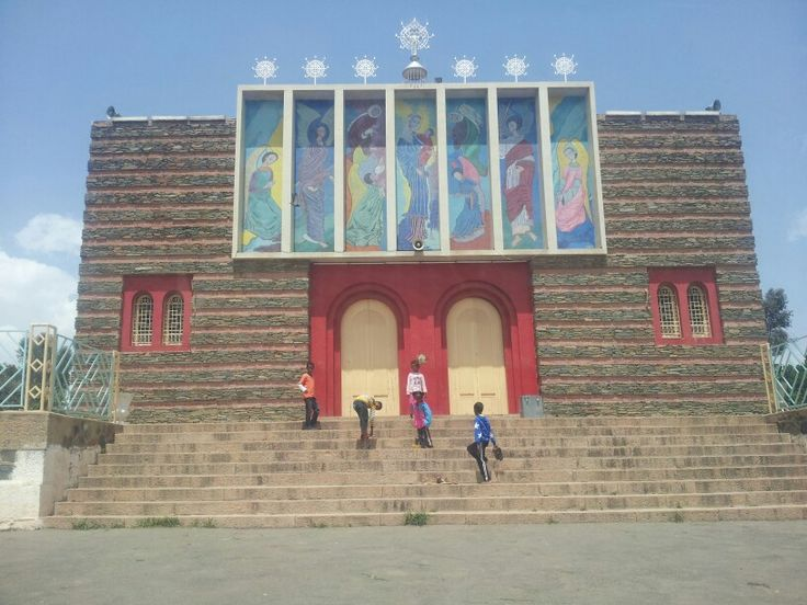 Temple in Asmara, Eritrea