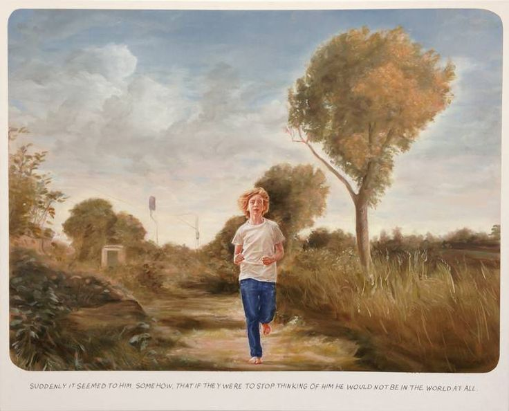Muntean/Rosenblum Untitled (Suddenly it seemed to him..), 2013 oil on canvas, 123 x 152 cm