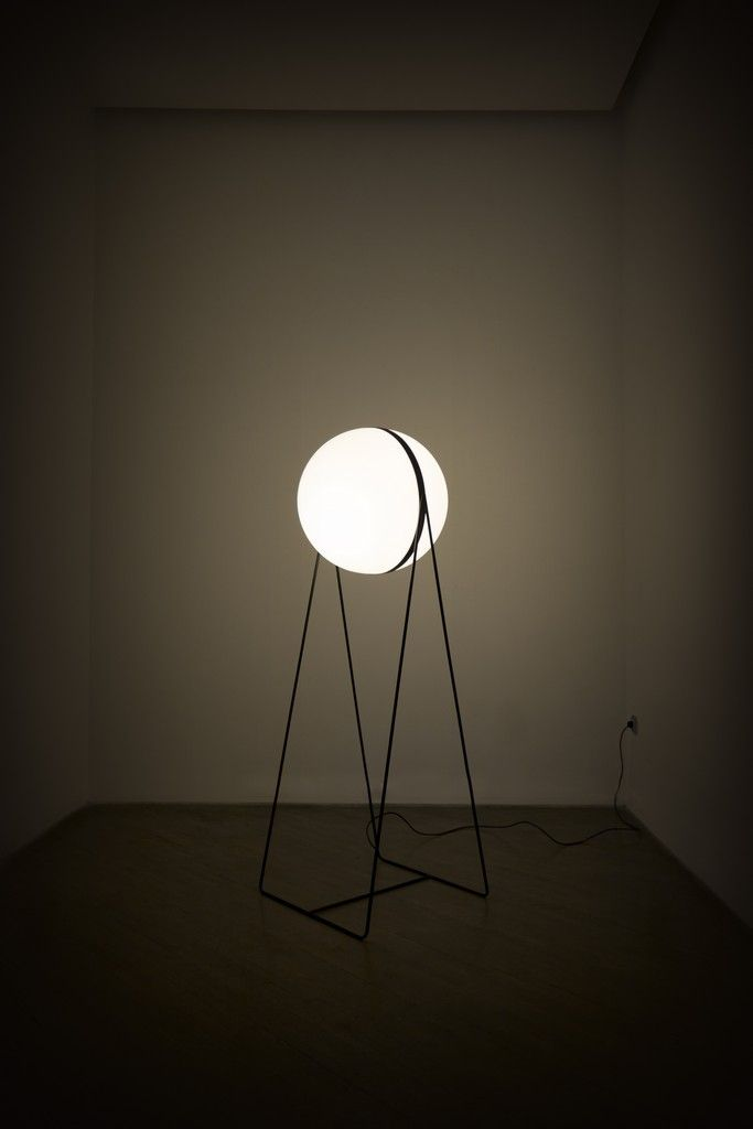 Stefan Djurovic; 'Luna' Floor Lamp for Lanterna, 2013.