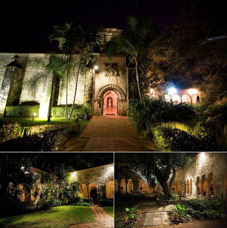 spanish monastery wedding photos in miami