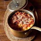 Een heerlijk recept: Laagjes polenta met groentesaus