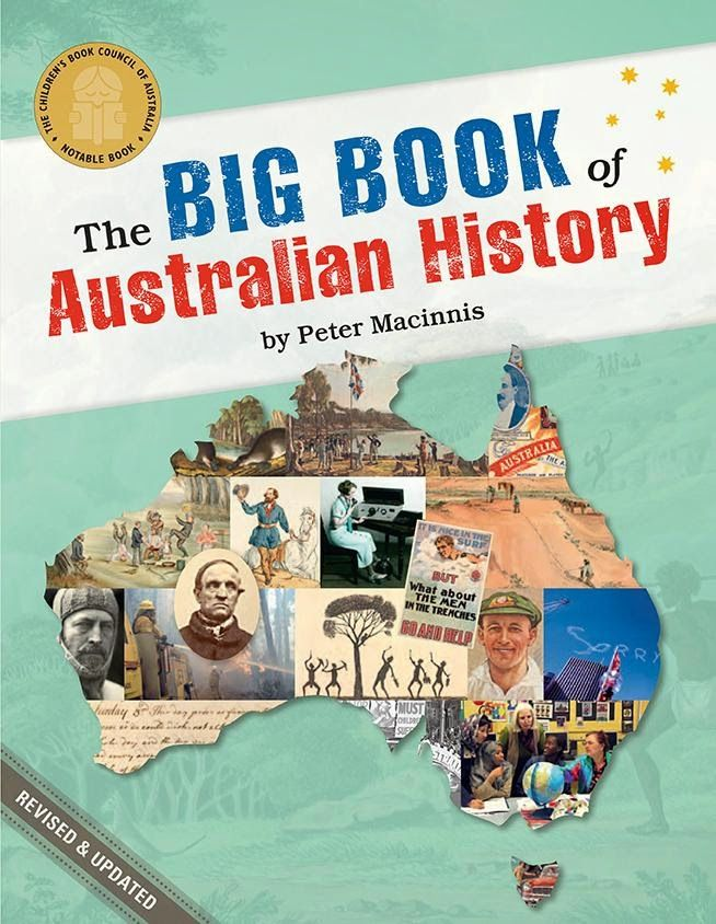 #kidlit Children's Book Review, The Big Book of Australian History (2nd ed) - wonderful for the whole family!