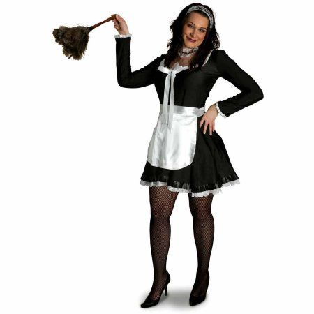 Lava Diva Chambermaid Women's Plus Size Adult Halloween Costume, Size: 2XL