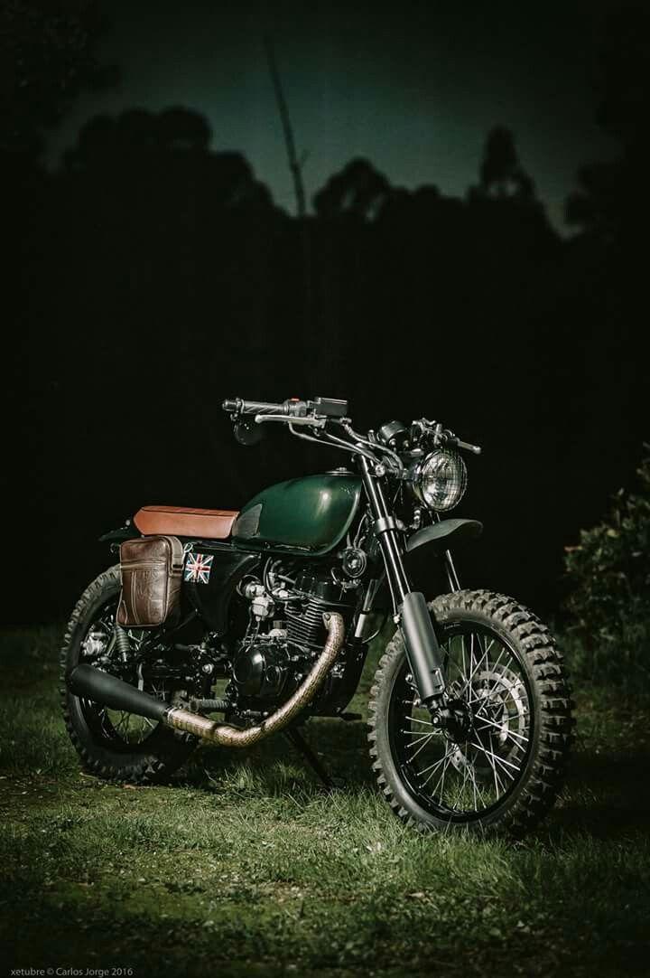 Custom Hanway Scrambler, 125cc, Portugal custom bike