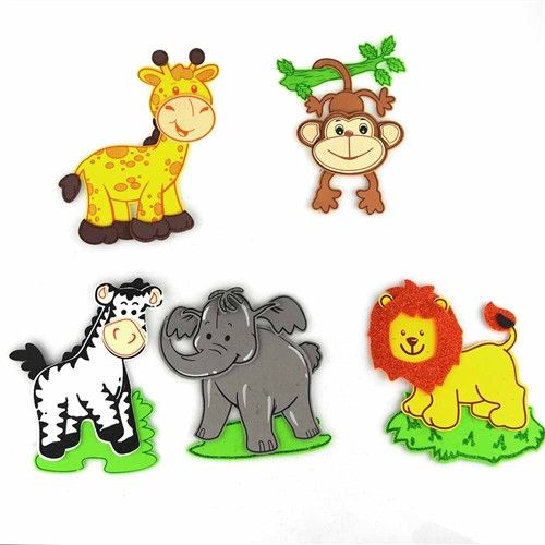17 best images about safari baby shower on pinterest for Baby shower decoration cutouts