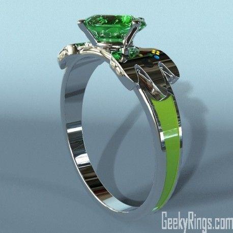 Nintendo Engagement Ring