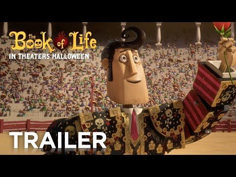 Can't wait to see The Book of Life! My sisters boyfriend is the layout artist for this movie! So, everyone needs to go see it!!!!