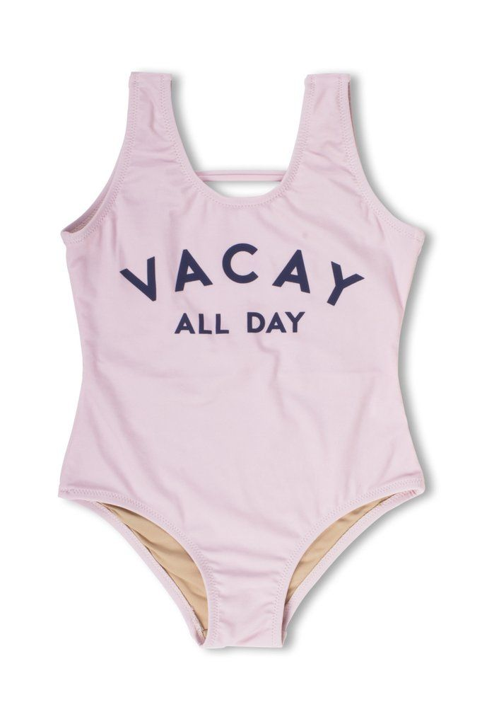 Toddler Swimsuit 2t Real Love Neon Pink Gold Pineapples Summer Bathing Suit #a A Great Variety Of Goods Outfits & Sets
